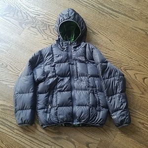 The North Face down jacket 550 reversible 10 12